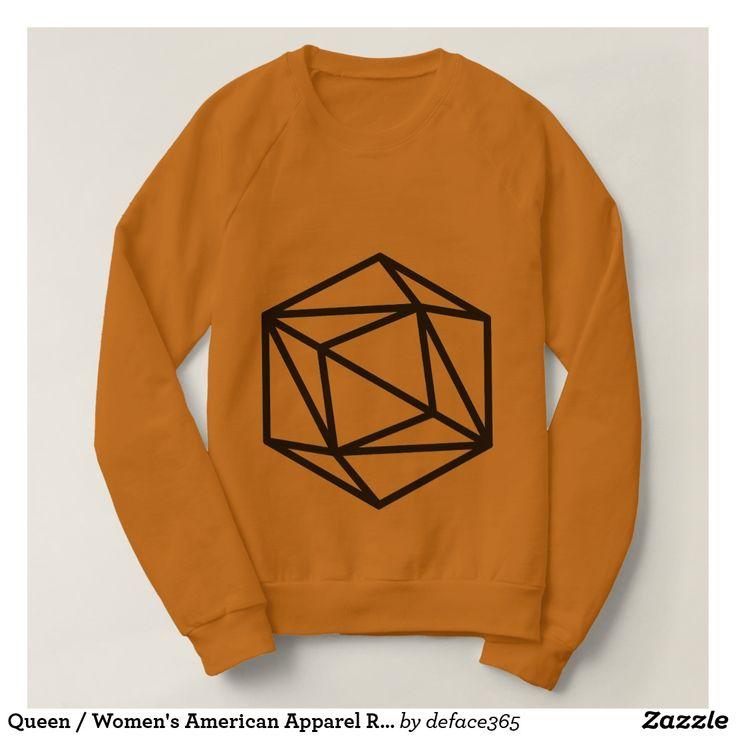 Queen / Women's American Apparel Raglan Sweatshirt