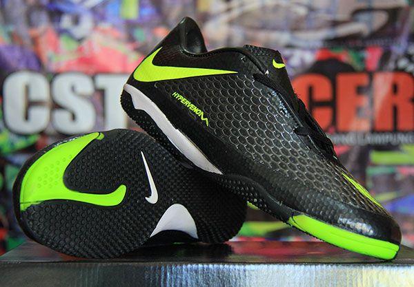 Nike Hypervenom Hitam Strip Hijau Grade Ori Rp 230.000