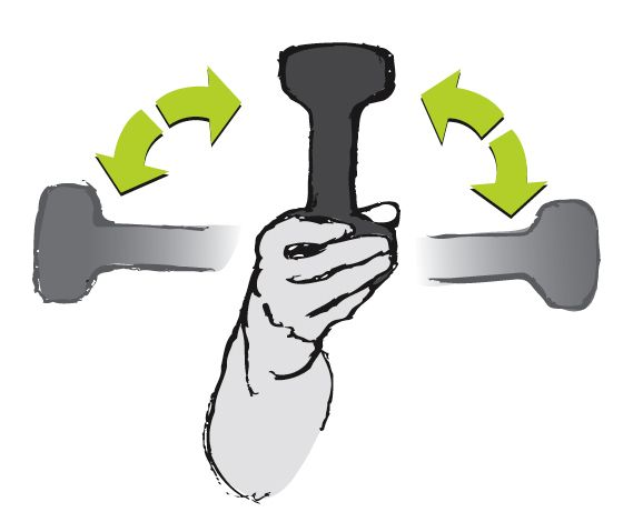 Forearm Pronation/Supination. Targeted Opposition - How to Avoid Tendonitis from Climbing  Strengthening and stretching exercises to beat upper-body tendonitis.