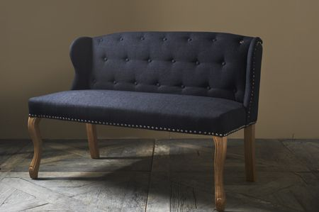 €849,- Keith Lowback Wing Bench #living #interior #rivieramaison