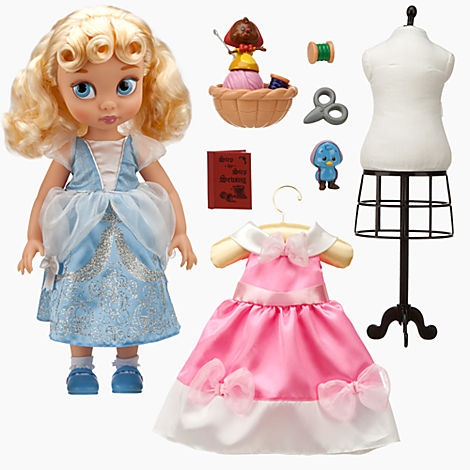 Cinderella Animators Collection series. / http://www.disneystore.com/cinderella-doll-set-disney-animators-collection/mp/1319836/1000259//    I'm so guilty of already buying dolls for my yet un-born daughter. Nabbed this one.