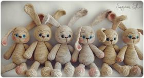 Amigurumi Rabbit - FREE Crochet Pattern / Tutorial