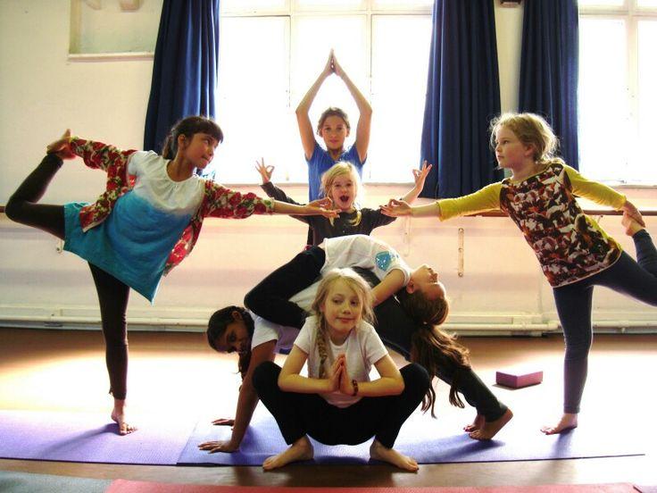Kids #yoga