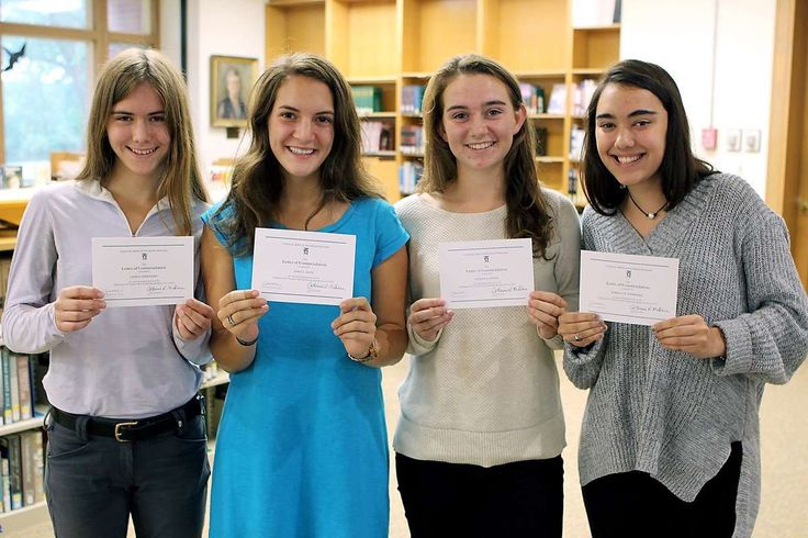 FOUR Foxcroft School Students Earn  National Merit Scholarship Commendation --- Four Foxcroft School seniors, a full 12 percent of the class, have been named Commended Students in the 2017 National Merit Scholarship Program, Foxcr... -