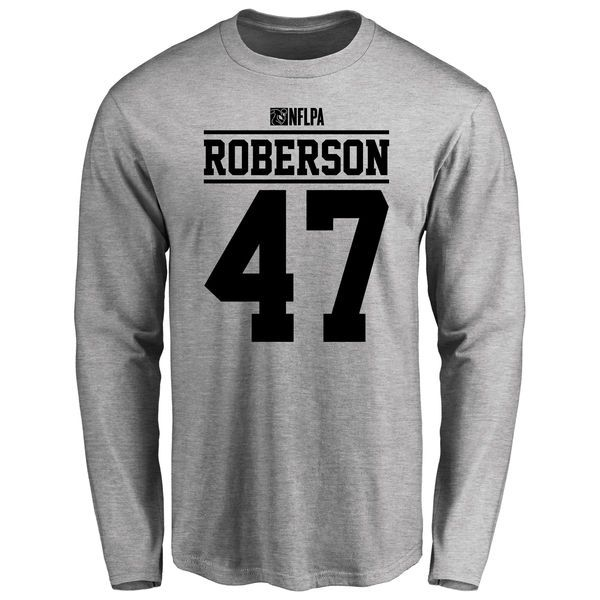 Marcus Roberson Player Issued Long Sleeve T-Shirt - Ash - $25.95