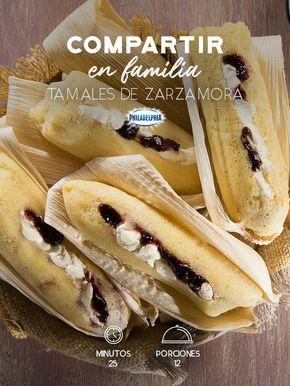 Consiente a tu familia con el sabor de nuestras tradiciones y prueben estos Tamales de zarzamora con Philadelphia #recetas #receta #quesophiladelphia #philadelphia #crema #quesocrema #queso #comida #cocinar #cocinamexicana #recetasfáciles #zarzamora #mermelada #fruta #tamales #cocinamexicana #tradiciones #tradicionesmexicanas #comidatradicional