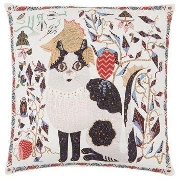 Klaus Haapaniemi's Les Chats Ryder cushion cover, linen