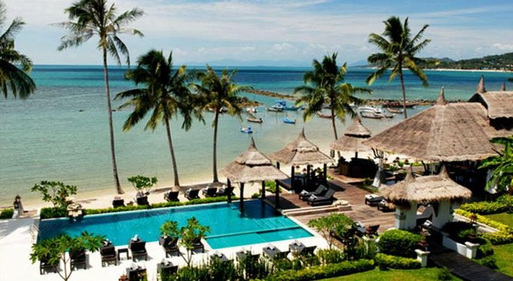 Samaya Bura Lamai Beach Samaya Bura is located along the eastern coast of Koh Samui, overlooking scenic Lamai Bay. It offers 2 fresh water infinity pools, pampering spa services and a beachside restaurant.