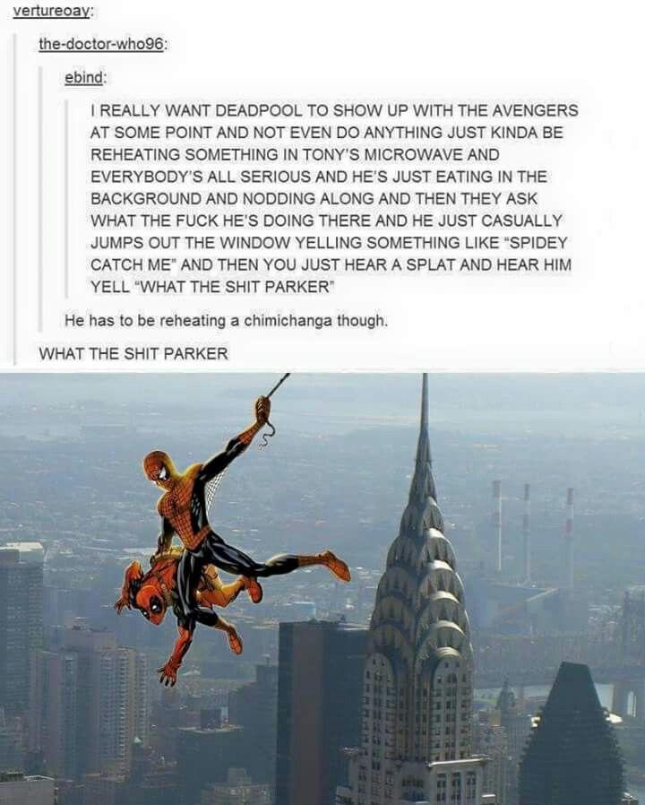 Deadpool and Spiderman