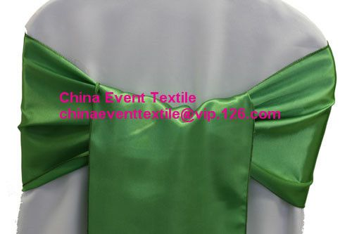 150pcs #84 Clover Green  Wedding Satin Chair Sash,Satin Sash for Weddings Events &Banquet &Party Decoration