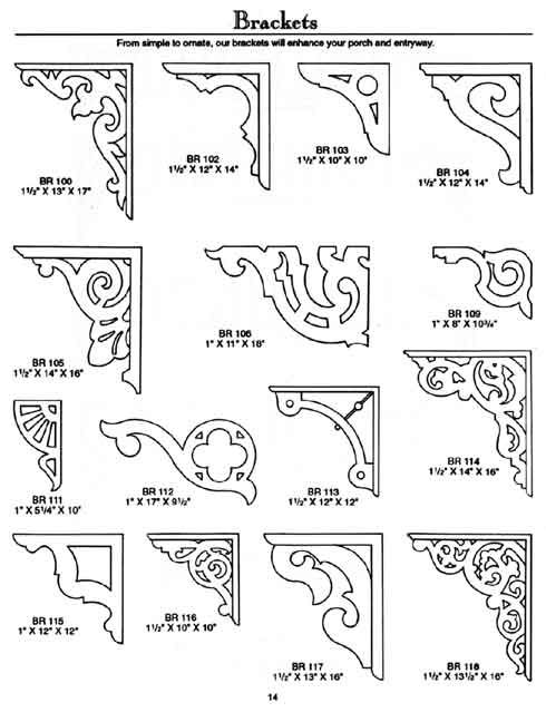 Mad River Woodworks: Custom victorian millwork products sawn balusters, corbels, mouldings, corbels, running trim