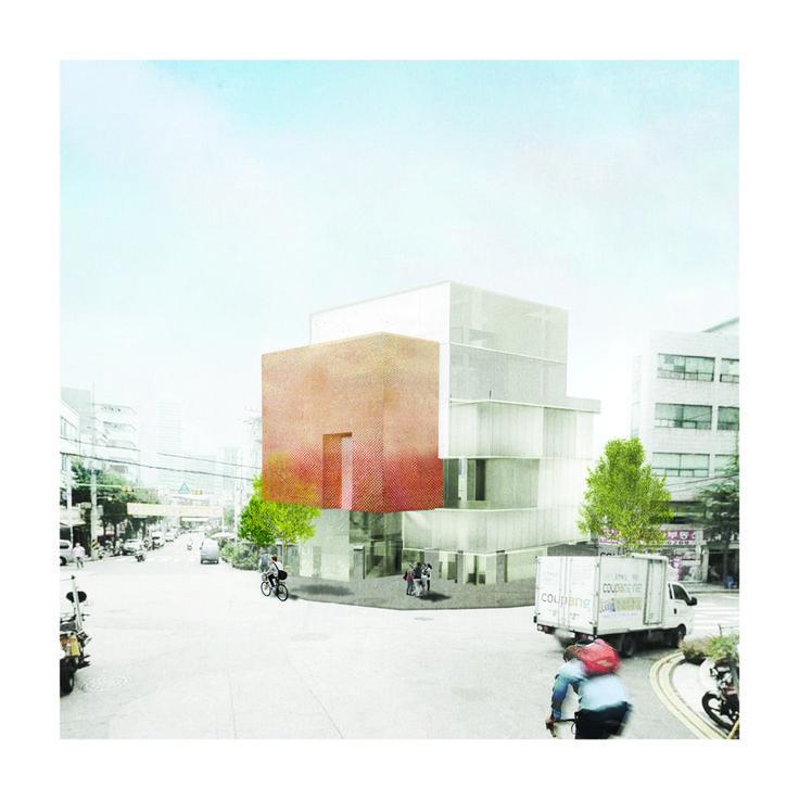 """고려대학교 건축학과 5학년 이민화 """"12 Springs(열두달의 봄) / Flower Culture Museum"""""""
