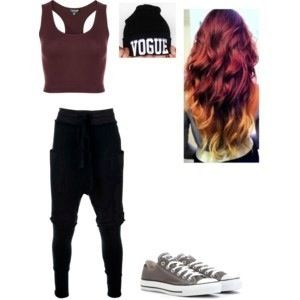 Hip hop outfit #swag (don't kill me for hash tagging that term)