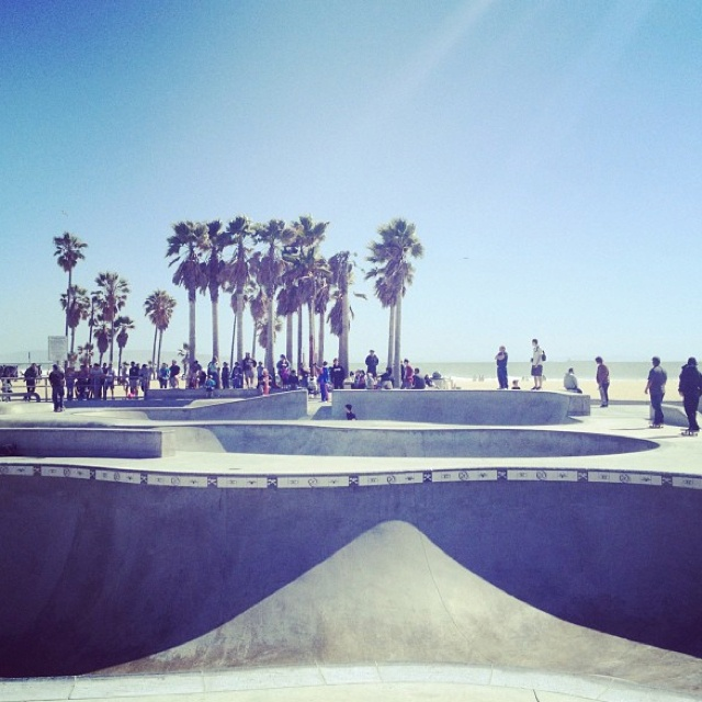 Venice Beach From MATE Vintage Instagram
