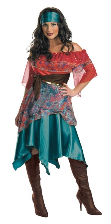 Gypsy Costume - Adult Costumes