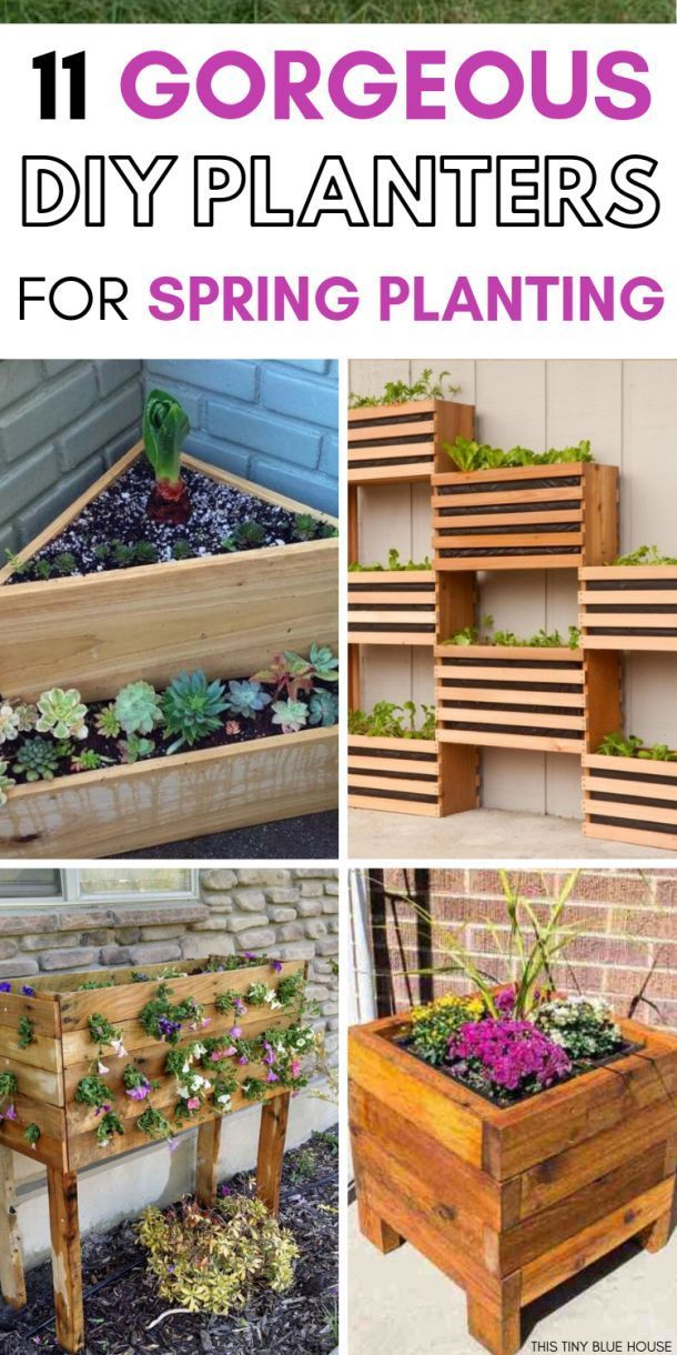 11 Creative Diy Planter Box Ideas For Spring Diy Planters Diy Planter Box Planter Boxes