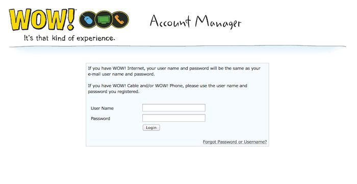 wowway email login page