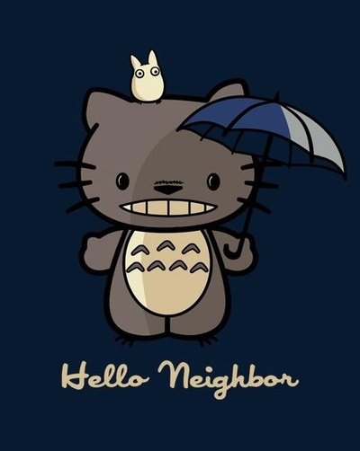 Hello neighbor t-shirt got this at Dragonvine in Gateway mall :3