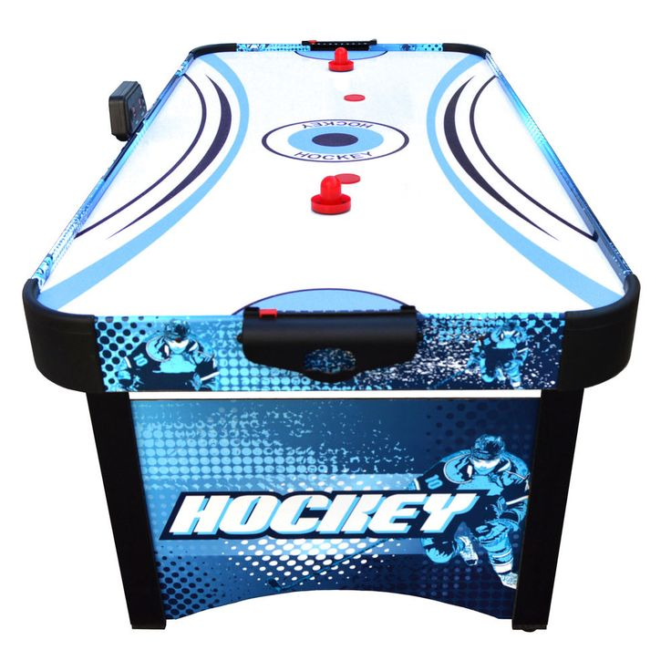 Air Hockey Table 5.5 Ft Electric Air Blower System Sports Game Kids Age 5+  NEW