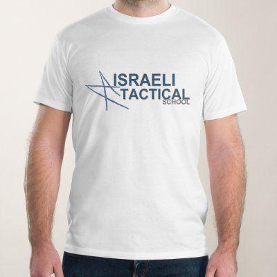 Men - Short Sleve T-Shirt Israeli Tactical Scool
