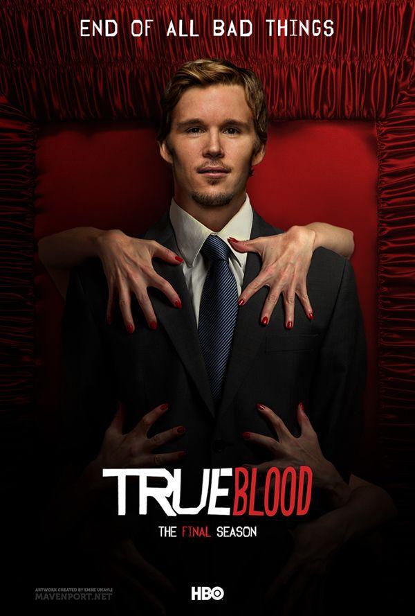Jason ~ True Blood: The Final Season by Emre Ünaylı, via Behance  I'm so emotionally distraught it's ending :'( It's not even funny.