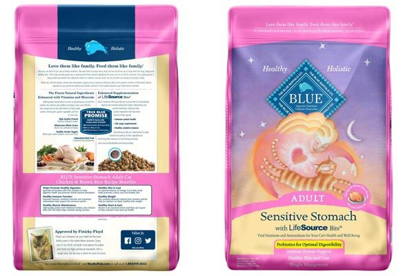 Blue Buffalo Sensitive Stomach Natural Adult Dry Cat Food Best