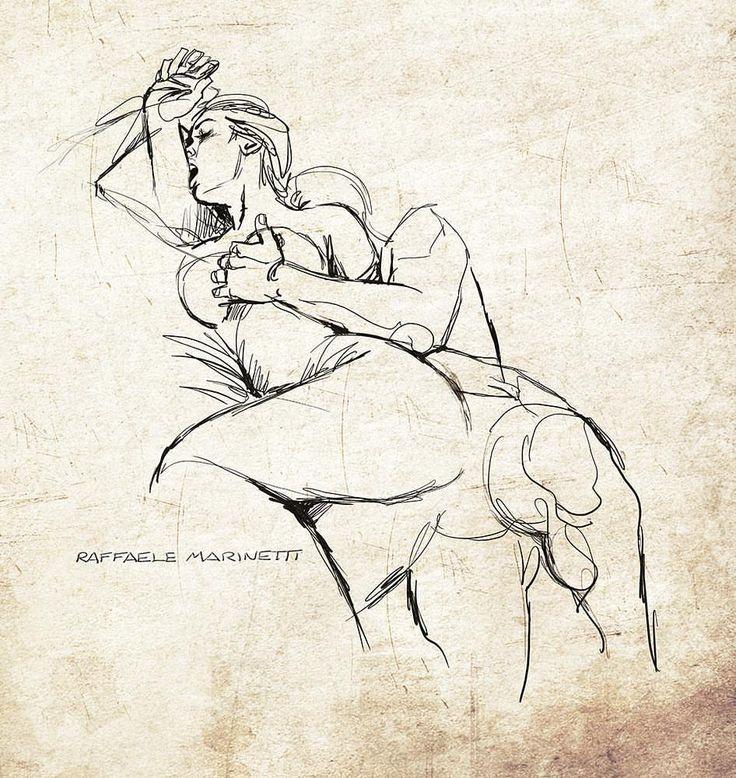 """9,045 Likes, 37 Comments - Raffaele Marinetti (@raffaele.marinetti) on Instagram: """"sketch """"Ogni cosa di noi 03"""" #artwork #illustration #illustrazione #drawing #poesia #disegno…"""""""