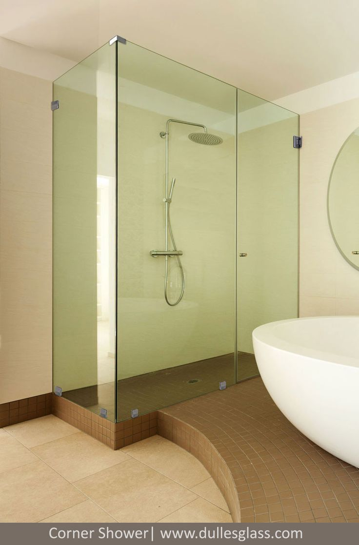 Nice Corner Shower Doors From Dulles Glass   High Quality Shower Doors For The  Washington, DC Metropolitan Area.