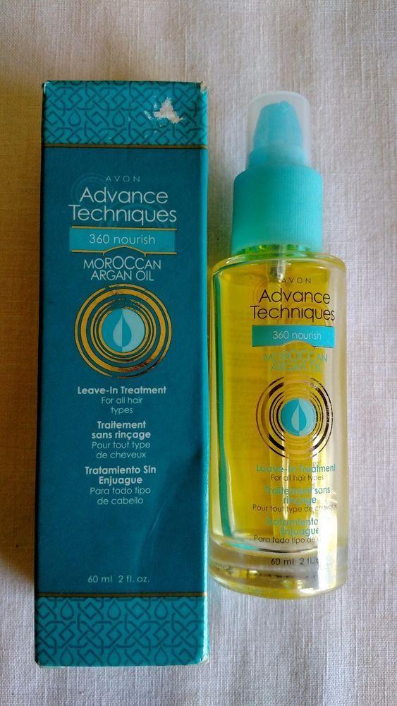 New Avon Advance Techniques Moroccan Argan Oil Leave in Treatment #Avon