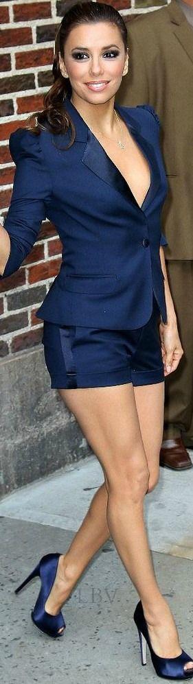 Manhattan GIRL~ Eva's Tuxedo Short Suit Style | LBV - #LadyLuxuryDesigns