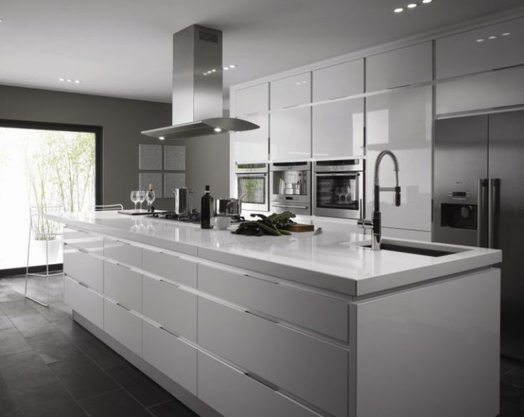 Show off to your friends in style with this gorgeous white kitchen