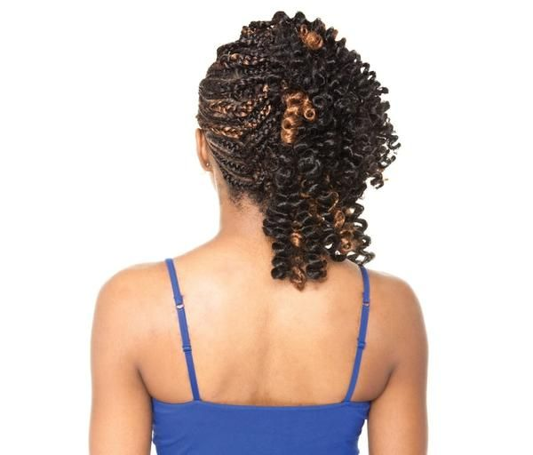 No need to fuss over fuzz , our Afri-Naptural Definition braid contains 100% Kanekalon fibers that not only resemble but feel like deep-conditioned natural hair. Afri- Naptural Definition braid is very versatile allowing you to create trendy braiding styles that are longer lasting and won't get fuzzy on you! Soft to the touch Definition braid is light with volume so you can achieve natural styles without having to carry extra weight. Feel the comfort and ease of finger-friendly braiding, ...