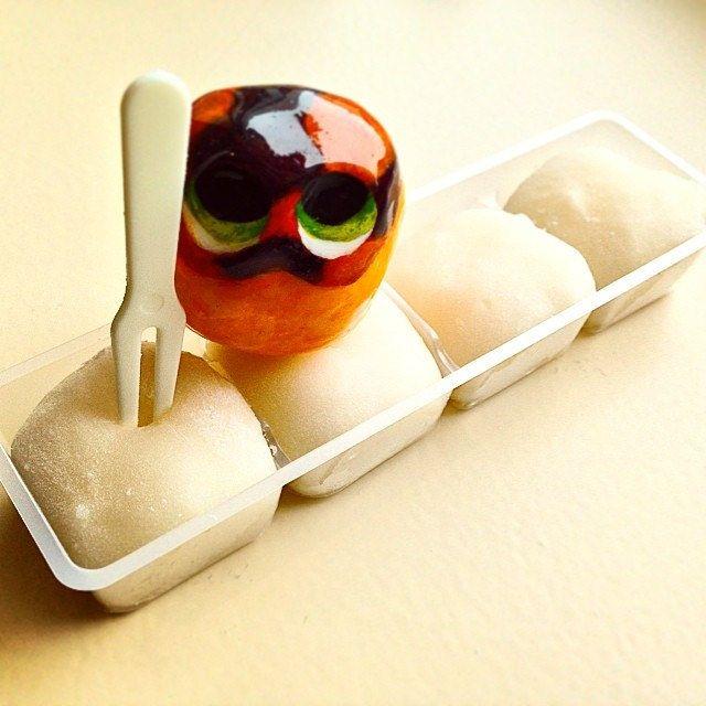 Found Cheese Mochi #mizumushikun #mochi #food #yummy #nomnom #nom #white #soft #softy #cheese #japan #japanese #japanesefood