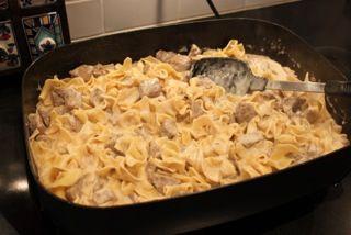 Ugly Kitchen: Beef Stroganoff Electric Skillet