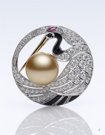 Mikimoto - High Jewelry Brooch