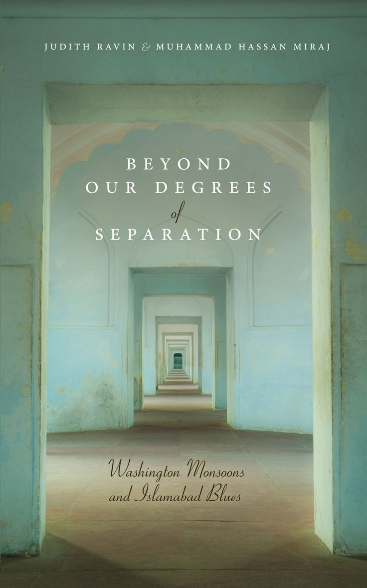 Beyond Our Degrees of Separation by Judith Ravin and Muhammad Hassan Miraj #bookcover #bookdesign #coverdesign