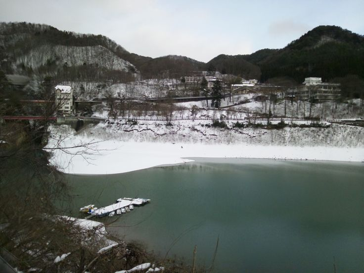 赤谷湖 猿ヶ京温泉 2012.2
