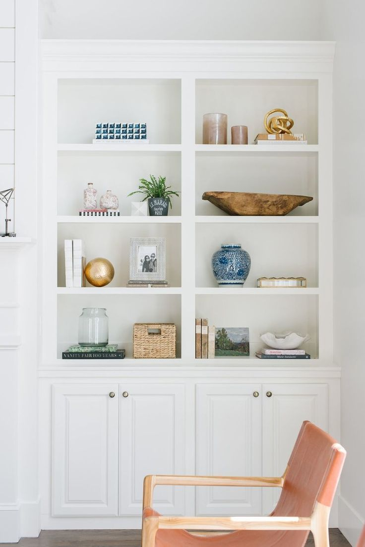 How To Design Around A Focal Point Styling Bookshelves