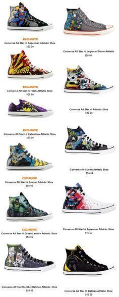 Exclusive Converse x DC Comics Kicks