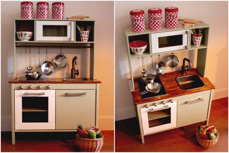 pimp my little kitchen on ikeaduktig duktig playkitchen speelkeuken diy. Black Bedroom Furniture Sets. Home Design Ideas