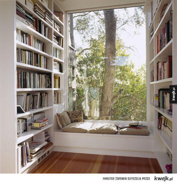 Przytulne kąciki do czytania