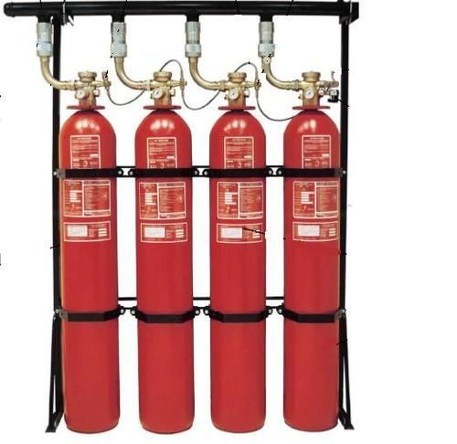 Halon Fire Extinguisher System.