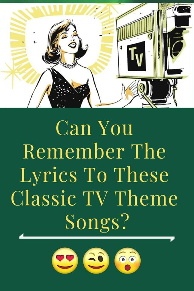 Can You Remember The Lyrics To These Classic TV Theme Songs