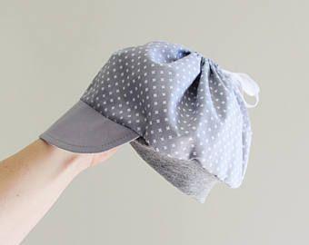 Niño vendedor de periódicos gorro algodón bebé niño gorra, niño verano casquillo, sombrero de tela niño, gris claro
