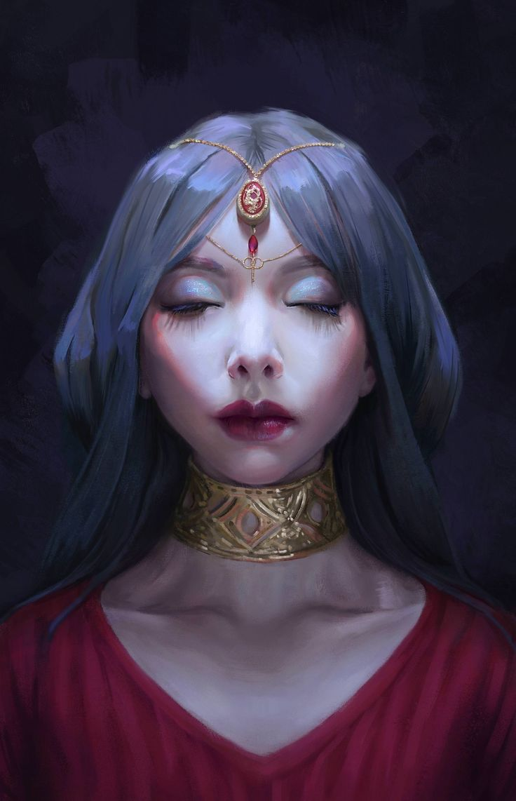 ArtStation - Portrait, Mandy Jurgens