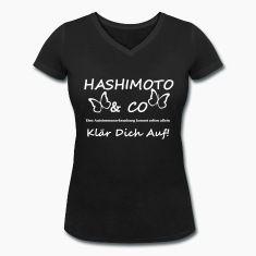 Tolles Motiv für alle, die etwas mit der Autoimmunkrankheit Hashimoto zu tun haben. Klär dich auf!