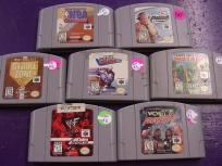7 games for Nintendo 64 N64 Army Men Sarge's Heroes WCW NWO Revenge WW