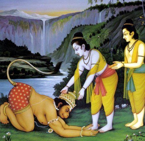 hanuman worship lord ram