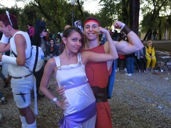 Hercules e Megara cosplay
