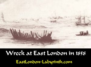 Wreck at EL in 1858 Buffalo River mouth